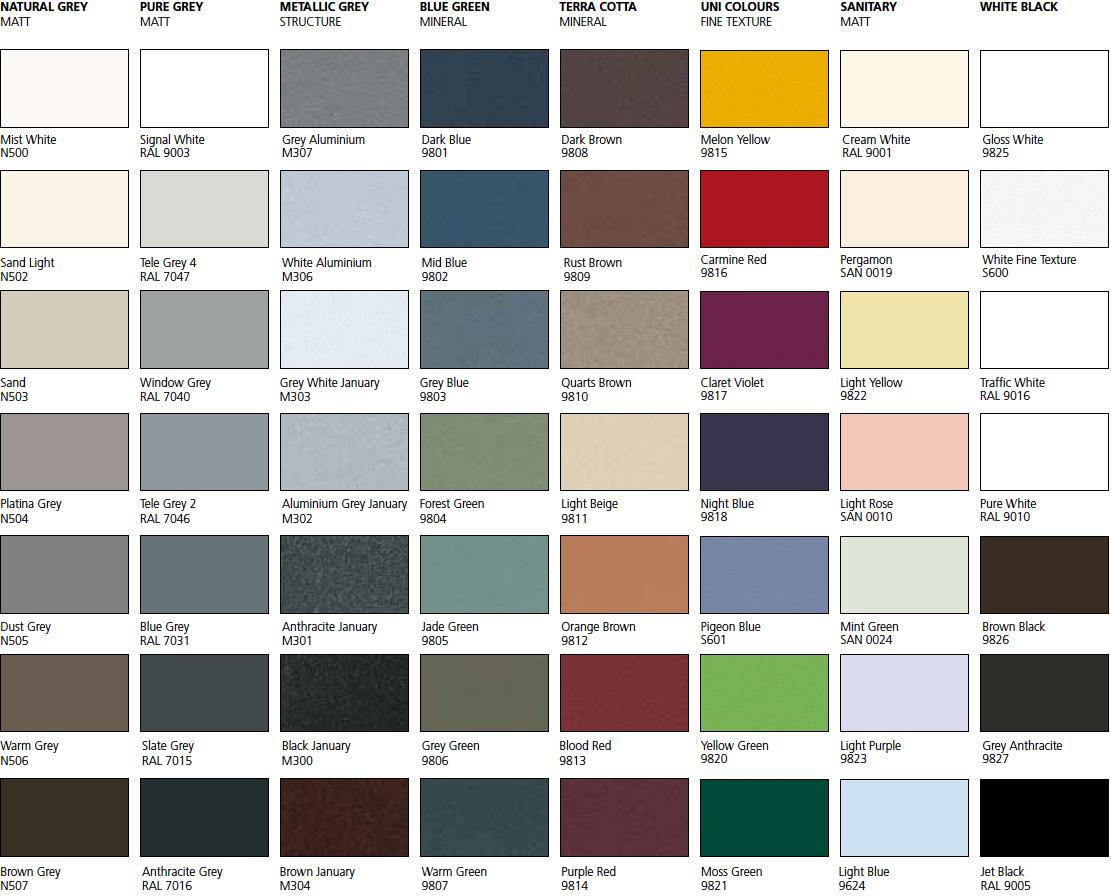 ral 9010 farbe farbkarte wohn design. Black Bedroom Furniture Sets. Home Design Ideas