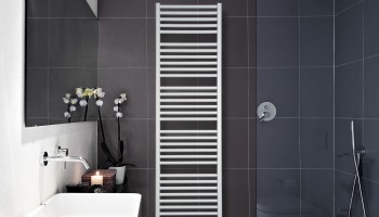 Een radiator in de douche: een absolute no-go!