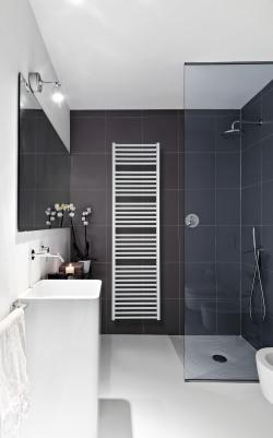 radiator in de douche
